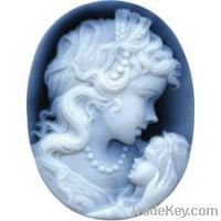 Sell natural agate cameos