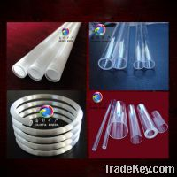 Sell Clear Fused Quartz tube