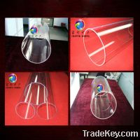 Sell Quartz Tube with large diameter high purity 99.99% min