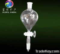 Sell Pear shape separatory funnel