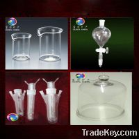 Sell Quartz glass ware (Milky and clear )