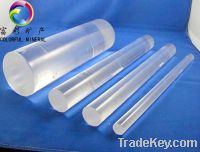 Sell thick wall quartz tube / fused silica rod/clear silica tube