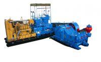 Triplex Mud Pump with Diesel Engine
