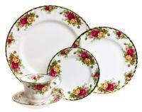Sell fine porcelain dinnerware