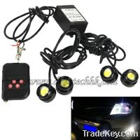 Sell 4 1.5W IP68 Strobe Eagle Eye Light Car Reversing Led Backup Light