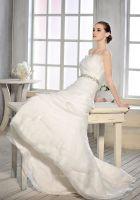 Sell Ruffle Tulle Organza Mermaid Wedding Dress