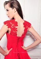 Sell Sleeveless Chiffon Floor Length Evening Dress