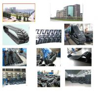 Sell rubber tracks for variety constructional machinery