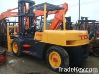 Sell Good quality used 10 ton TCM forklift in 2010 for sell