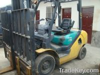 Sell  used 2.5 ton komatsu forklift for sell