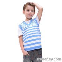 Sell Boy V-neck vest for spring-summer(BSV-107S3)