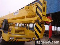 Sell used tadano truck crane GT550E