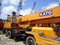 Sell used truck crane KATO NK250E