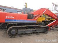 Sell used Hitachi excavator EX200
