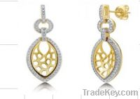 Sell micro-pave earring