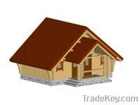 """Glued laminated beam house """"Viking"""""""