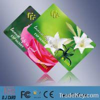 Sell id rfid smart card, 13.56mhz chip card, nxp mifare card