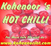 DRY RED HOT CHILLI WHOLE - KOHENOOR's