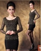 Sell Womens Lace Long Sleeves T-Shirts
