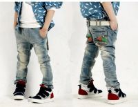 Sell Childrens Jeans, Kids 100% cotton high quality  Jeans