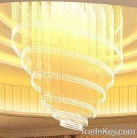 Big project chandelier-big crystal ceiling lamp
