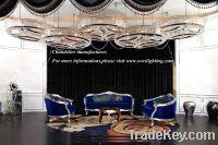 Big project chandelier-big hotel lobby pendant lamp- big ceiling lamp