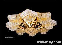 Big mosque chandelier-luxury golden crystal chandelier-project lamp