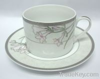 Sell ceramic cup saucer