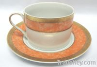 Sell porcelain cup saucer