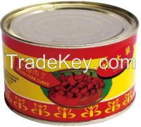 Wholesale High Quality canned meat products canned spiced  cubes
