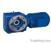Sell S Series Helical Worm Geared Motor