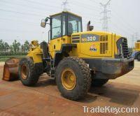 sell used Komatsu WA320-5 loader