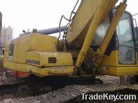 Sell used Komatsu excavators