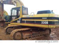 Sell used CAT330B excavator, excavators