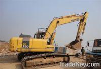 Sell for used Komatsu PC220-7 excavators