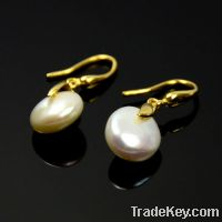 Sell wholesale 925 sterling silver pearl earrings