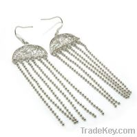 Sell wholesale 925 sterling silver tassel earrings