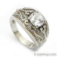 Sell wholesale 925 sterling silver vintage wedding rings