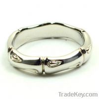 Sell wholesale 925 sterling silver bamboo rings bands