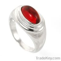 wholesale 925 sterling silver ruby rings