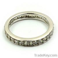 wholesale 925 sterling silver eternity rings bands
