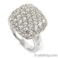 wholesale 925 sterling silver cluster rings