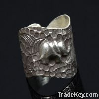 wholesale 925 sterling silver elephant rings