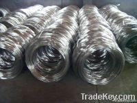 Hot Sales galvanized straight wire