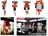 Sell electric/ manual hoists and cranes