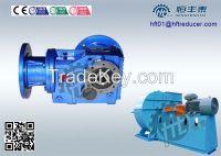K Right Angle Helical/Bevel gearmotor scrapp shredder, plastic rubber shredder machine