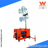 Sell Portable Gasoline Engine Tower Lighting Generator
