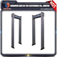 weather-proof archway metal detector 6 multi-zones
