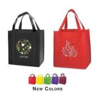 colorfull printing nonwoven shopping bag