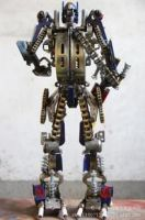 Transformers iron handcrafts